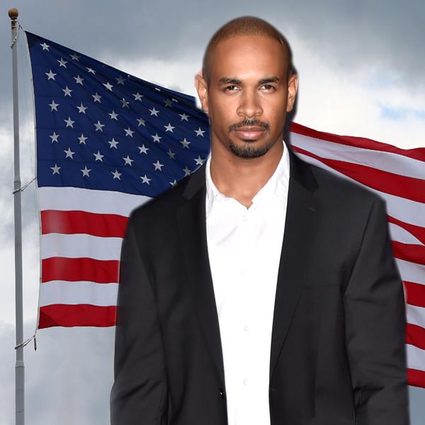 Damon Wayans Jr., American Flag