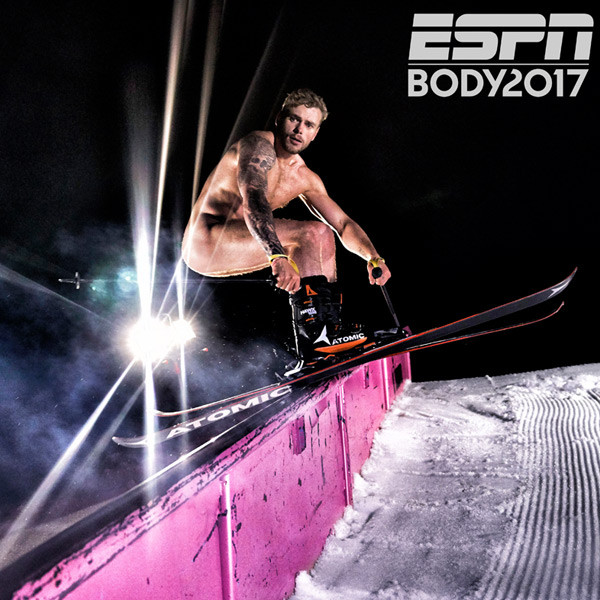 Adam Rippon from Athletes Pose Nude for ESPN the Magazine
