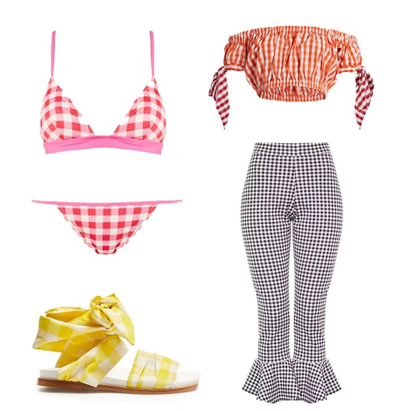 15 Ways to Wear Gingham This Summer