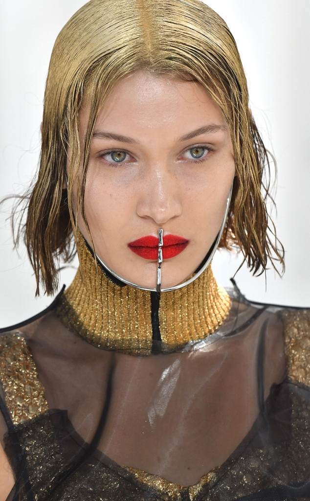 Bella Hadid, Maison Margiela, Haute Couture Paris Fashion Week
