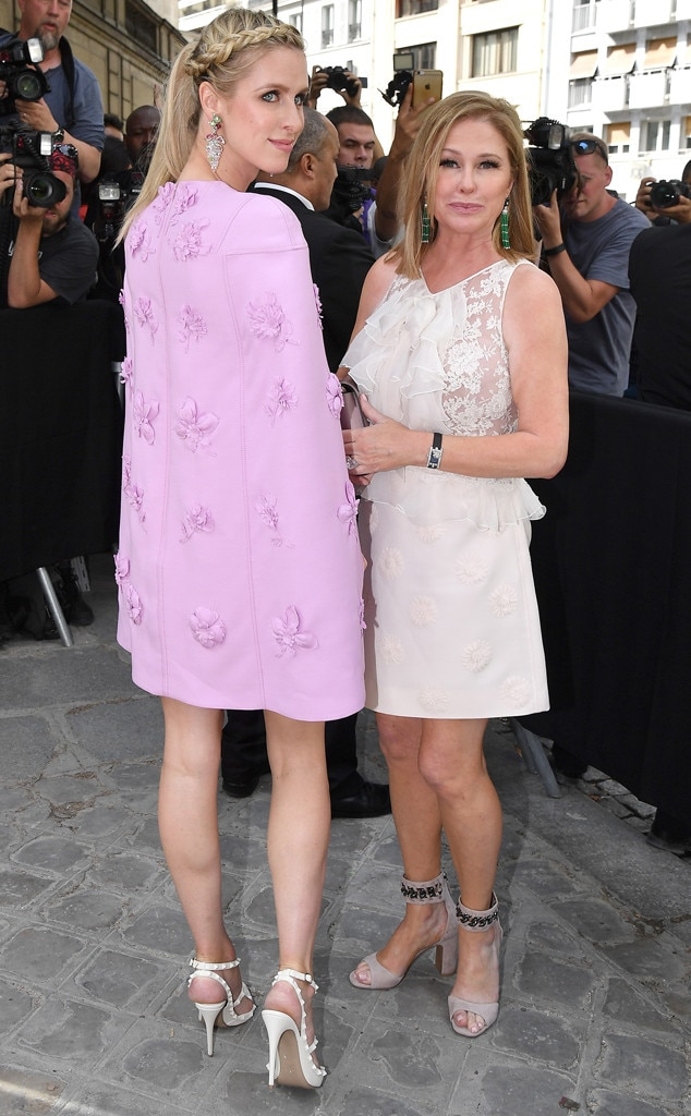 Nicky Hilton Rothschild, Kathy Hilton, Paris Fashion Week