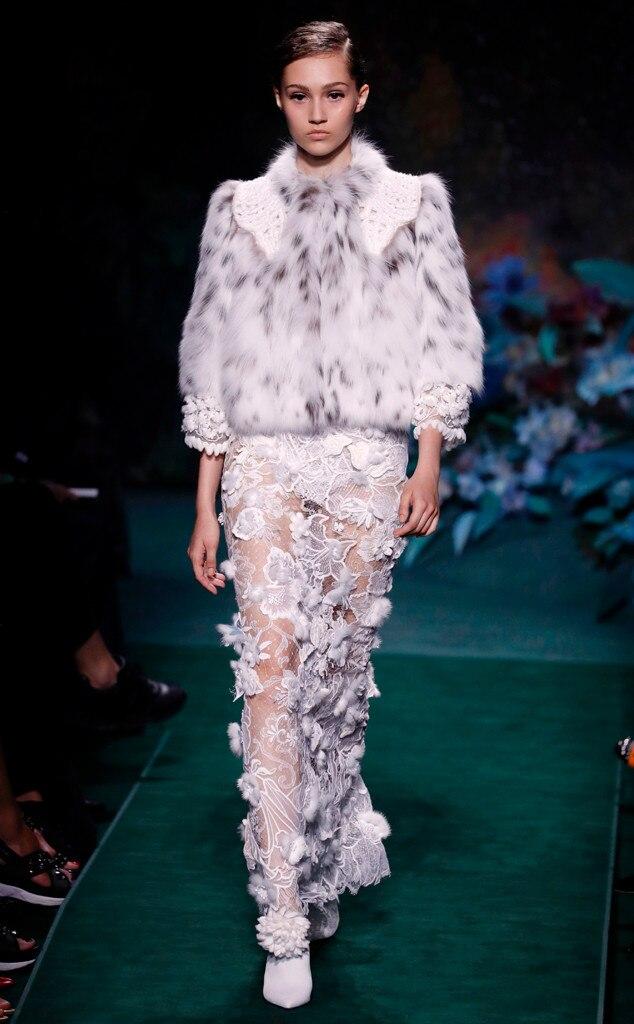 Fendi, Haute Couture Paris Fashion Week