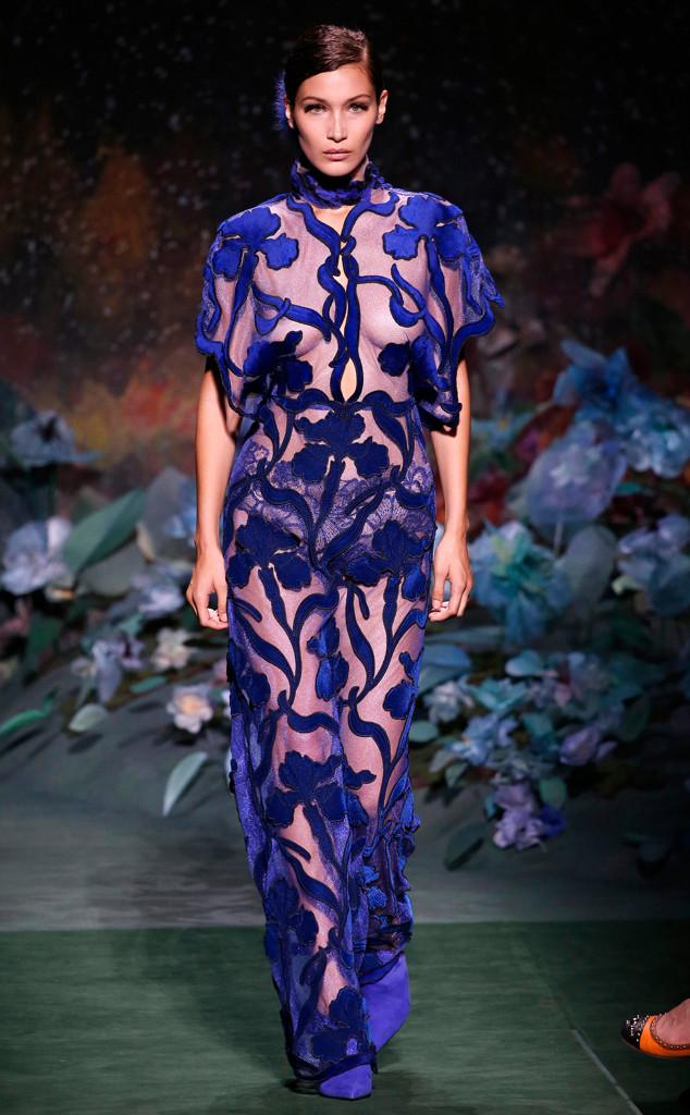 Bella Hadid, Fendi, Haute Couture Paris Fashion Week