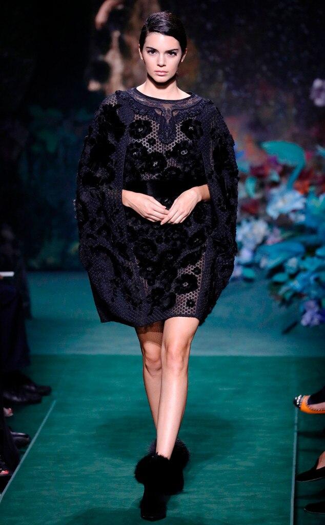 Kendall Jenner, Fendi, Haute Couture Paris Fashion Week