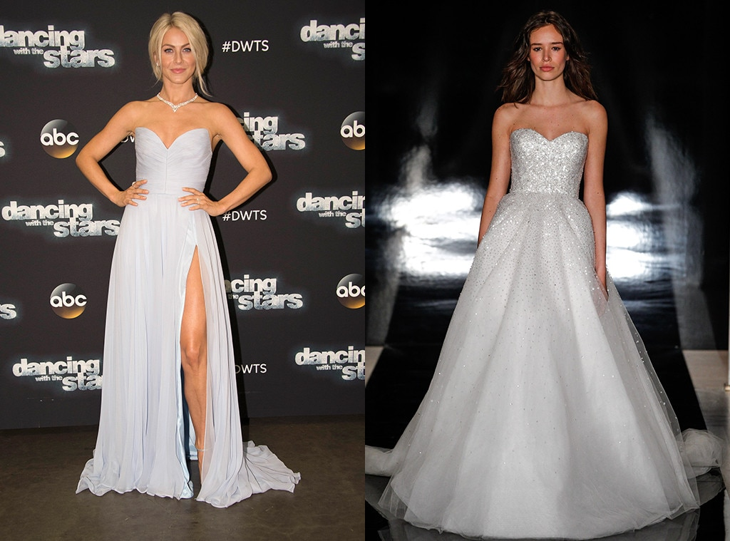What julianne hough should wear on her wedding day based for Julianne hough wedding pictures