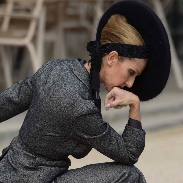 Céline Dion's Haute Paris Fashion Shoot
