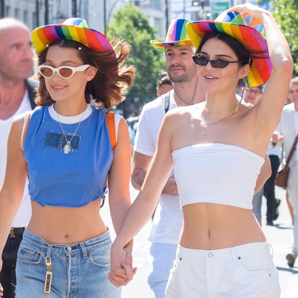 Kendall Jenner, Bella Hadid