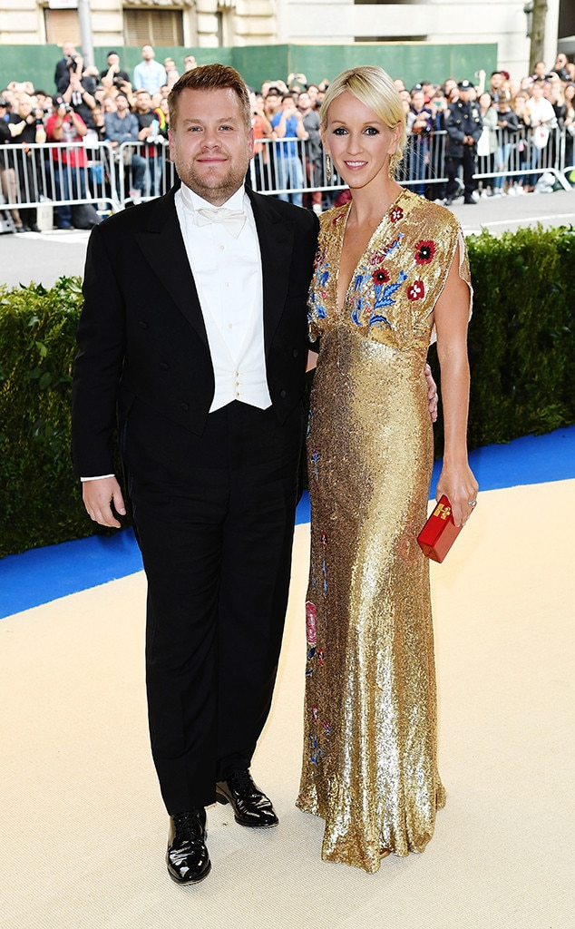 James Corden and Wife ...