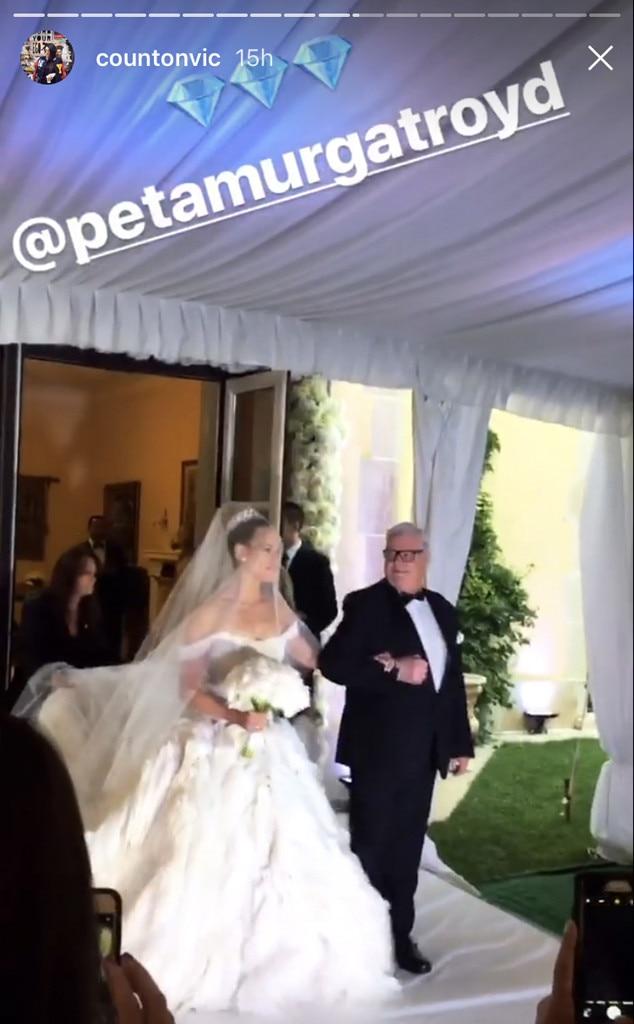 Wedding Dresses Instagram 41 Nice Maksim Chmerkovskiy Peta Murgatroyd