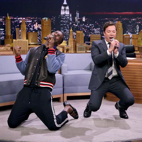 Idris Elba, Jimmy Fallon