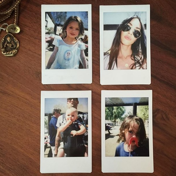 Megan Fox Posts Rare Photos of Her Cute Boys