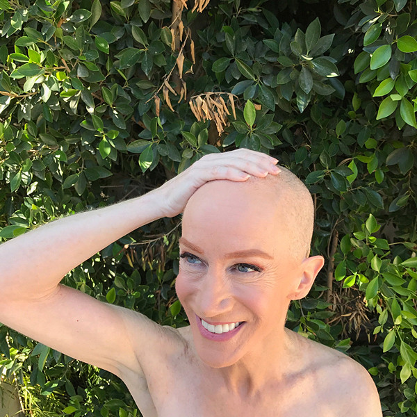 Kathy Griffin, Stars With Shaved Heads