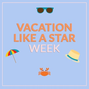 Vacation Like A Star Badge