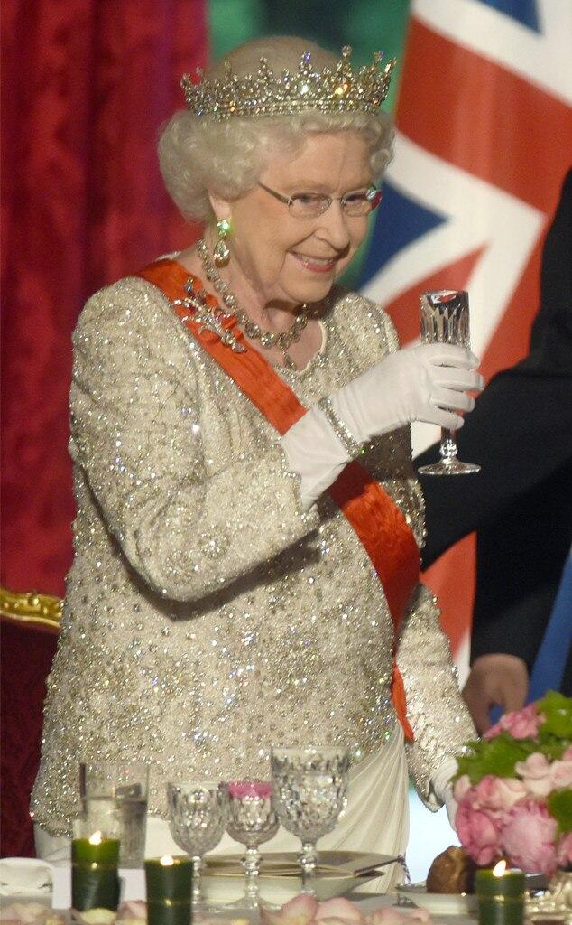Queen Elizabeth, Drink