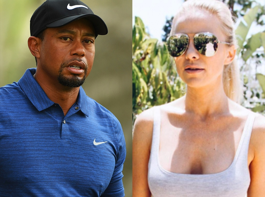 Tiger Woods hits back at 'false' article about his 'top secret lover'