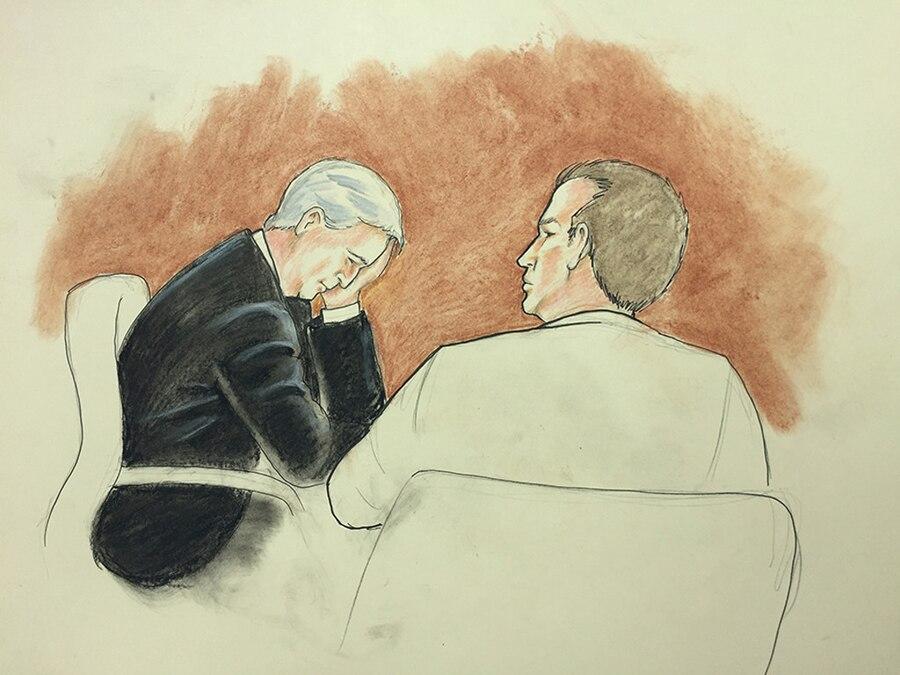 David Mueller, Taylor Swift, Court Sketch