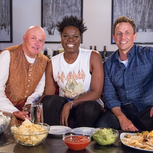 Conleth Hill, Leslie Jones, Seth Meyers