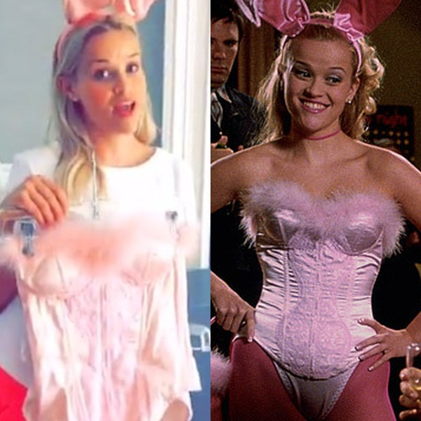 Reese Witherspoon, Legally Blonde Wardrobe, Now and Then