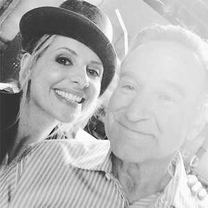 Sarah Michelle Gellar, Robin Williams