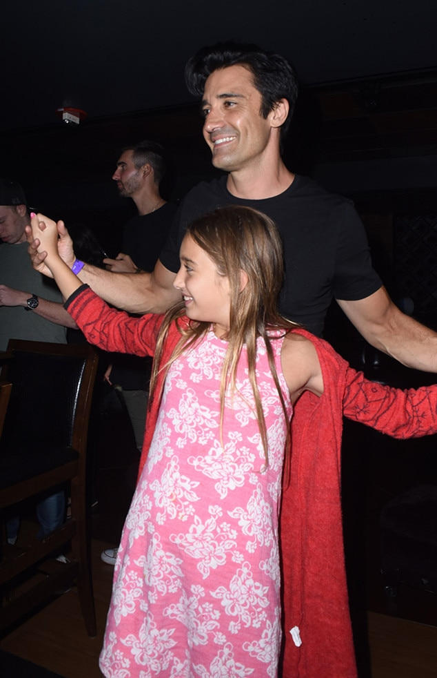 Gilles Marini, Juliana Marini, Daughter, Ed Sheeran Concert, HYDE Lounge
