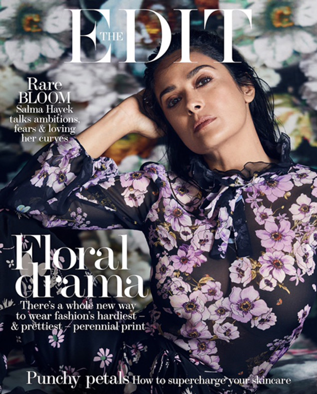 Salma Hayek, The EDIT, Cover