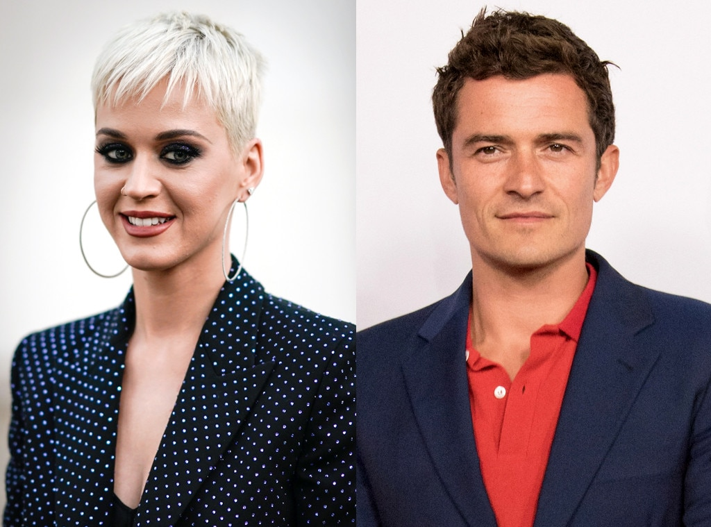 Katy Perry & Orlando Bloom Cuddle Up at Ed Sheeran's Show