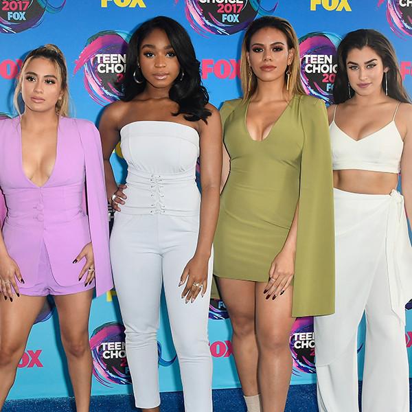 2017 Teen Choice Awards, Ally Brooke, Normani Kordei, Dinah Jane, Lauren Jauregui, Fifth Harmony