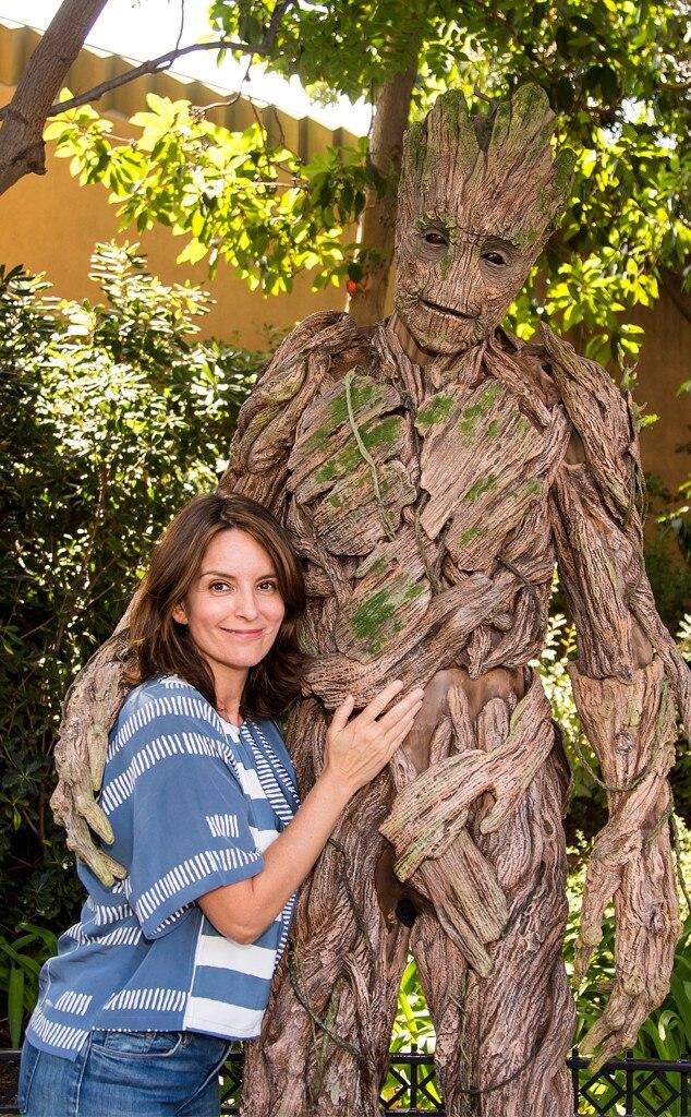 Tina Fey, Groot, Disneyland