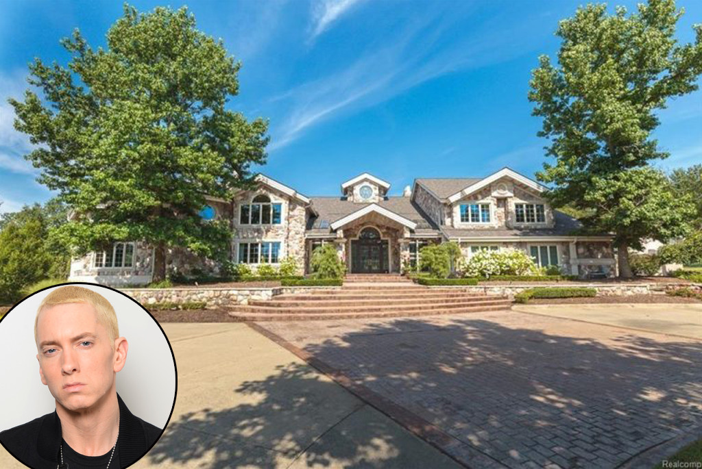 Eminem Lists Michigan Home For 2 Million Inside The