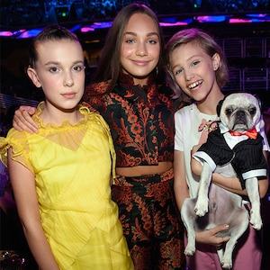 Millie Bobby Brown, Maddie Ziegler, Grace VanderWaal, Teen Choice Awards 2017