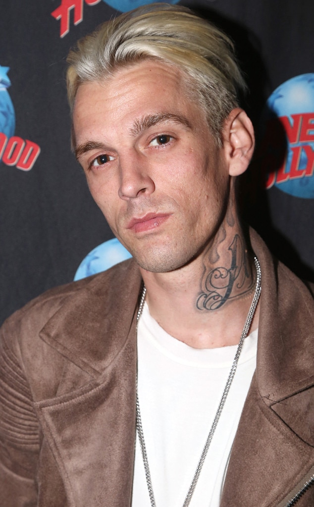 "Aaron Carter Is ""Doing OK"" After Totaling His Car In ""Terrible"" Accident"