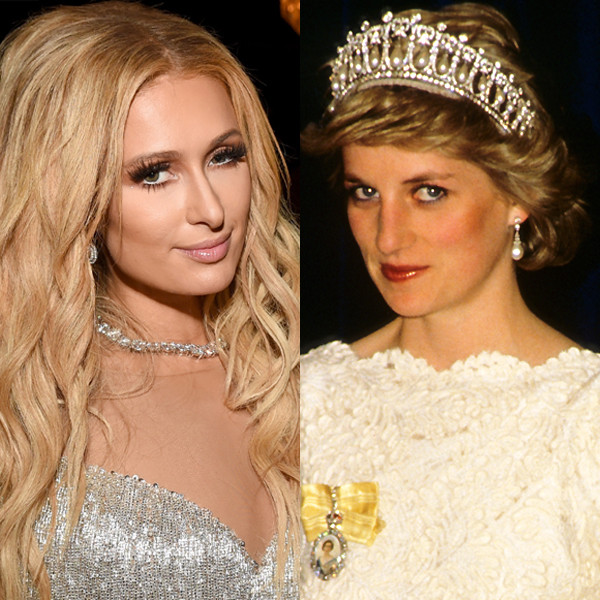 Paris Hilton, Princess Diana