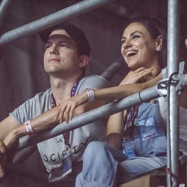 Mila Kunis Celebrates Her 34th Birthday With Ashton Kutcher and Family in Budapest