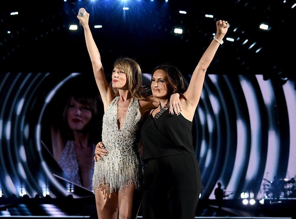 Taylor Swift, Mariska Hargitay