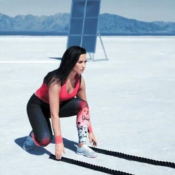 Demi Lovato's Gym Bag Essentials
