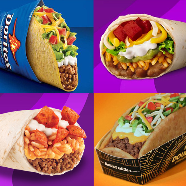 The 20 Most Insane Taco Bell Menu Items Ever
