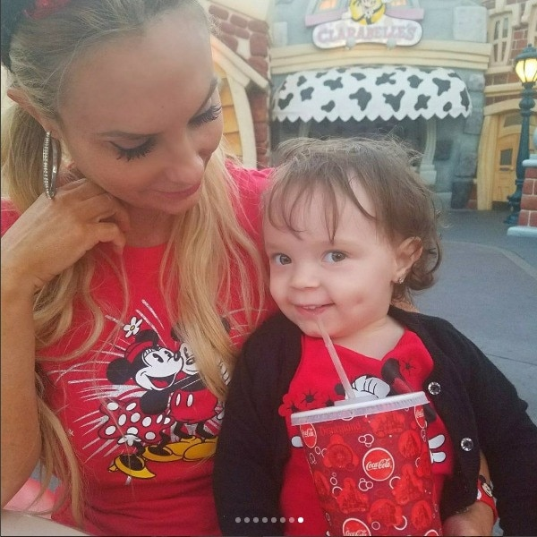 Coco and Baby Chanel's Disneyland Trip