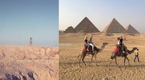 Kourtney Kardashian, Egypt