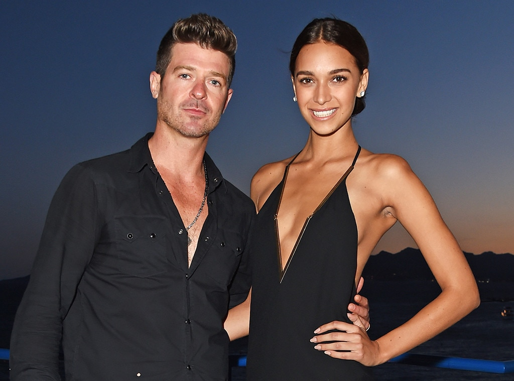 Robin Thicke & Girlfriend April Love Geary's Exciting Baby News!