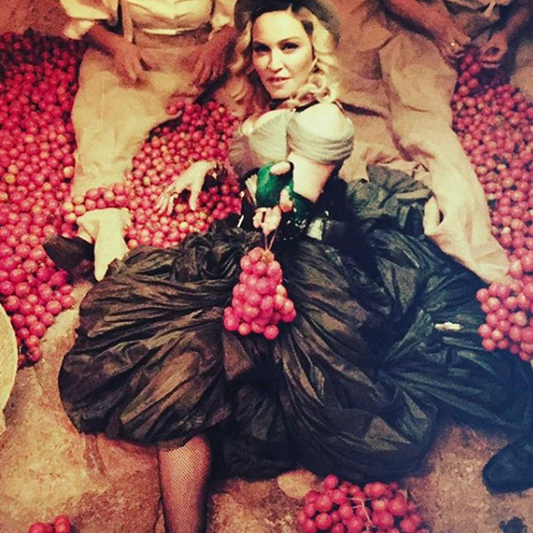 Madonna Throws Herself a Gypsy-Themed Birthday Party