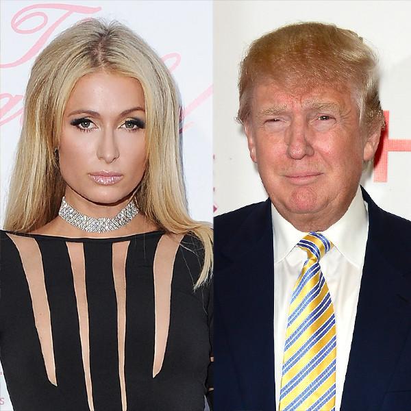 Paris Hilton, Donald Trump