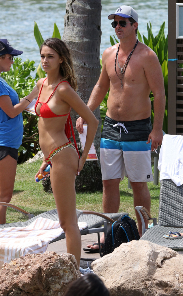 Robin Thicke, April Love Geary, Vacation