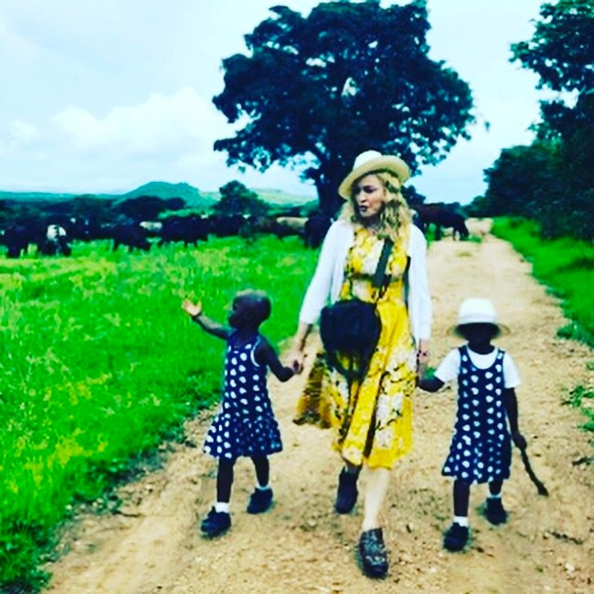 Madonna shared rare family photo of her 6 kids forecasting