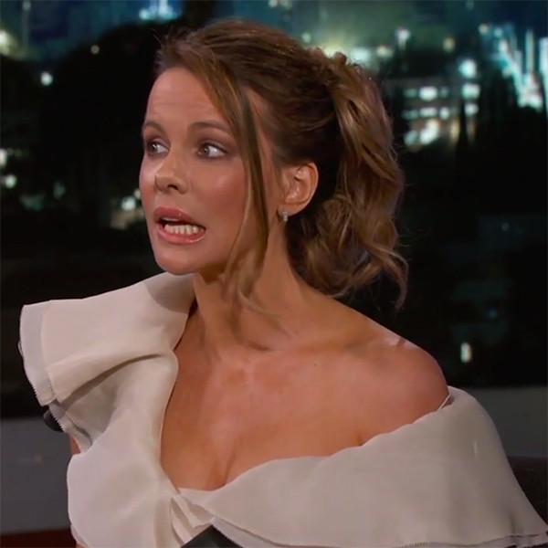 Kate Beckinsale Embarrasses Her Mom and Daughter on <i>Jimmy Kimmel Live!</i>