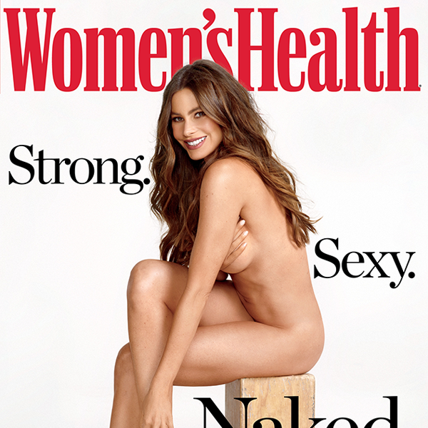 Sofia Vergara, Naked, Women's Health