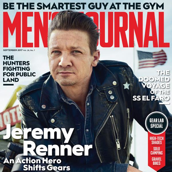 Jeremy Renner, Men's Journal
