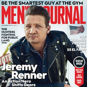 Jeremy Renner, Men's Journal
