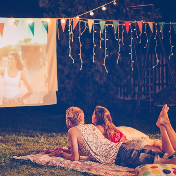 Everything You Need for the Perfect Outdoor Movie Night