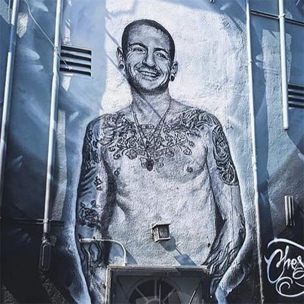 Chester Bennington, Mural