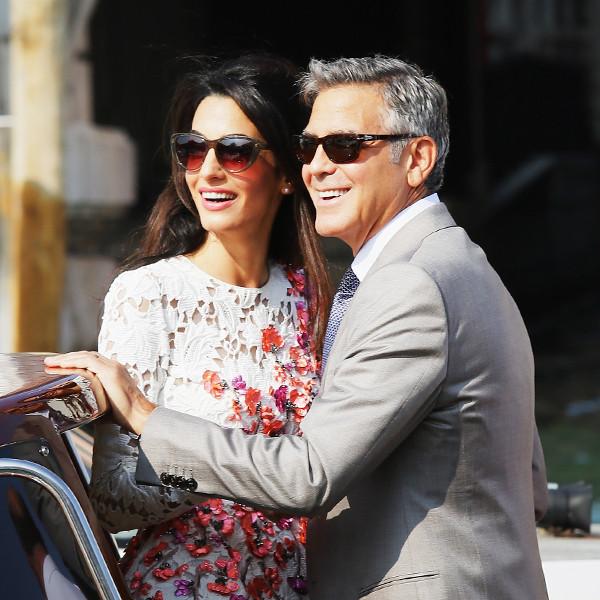 ESC: George Clooney, Amal Clooney